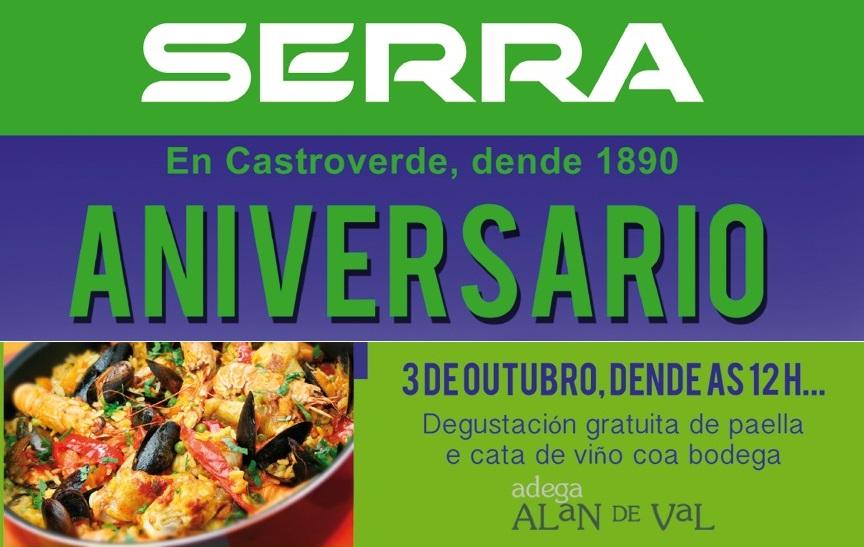 Casa Serra – Primeiro Aniversario