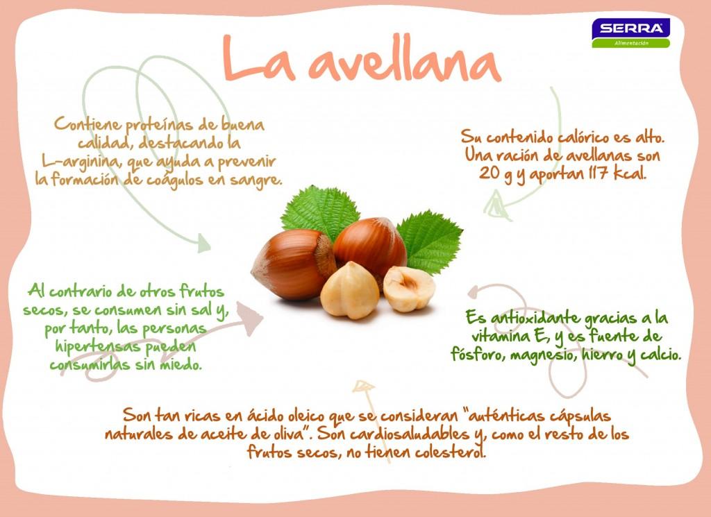 Infografía Avellana